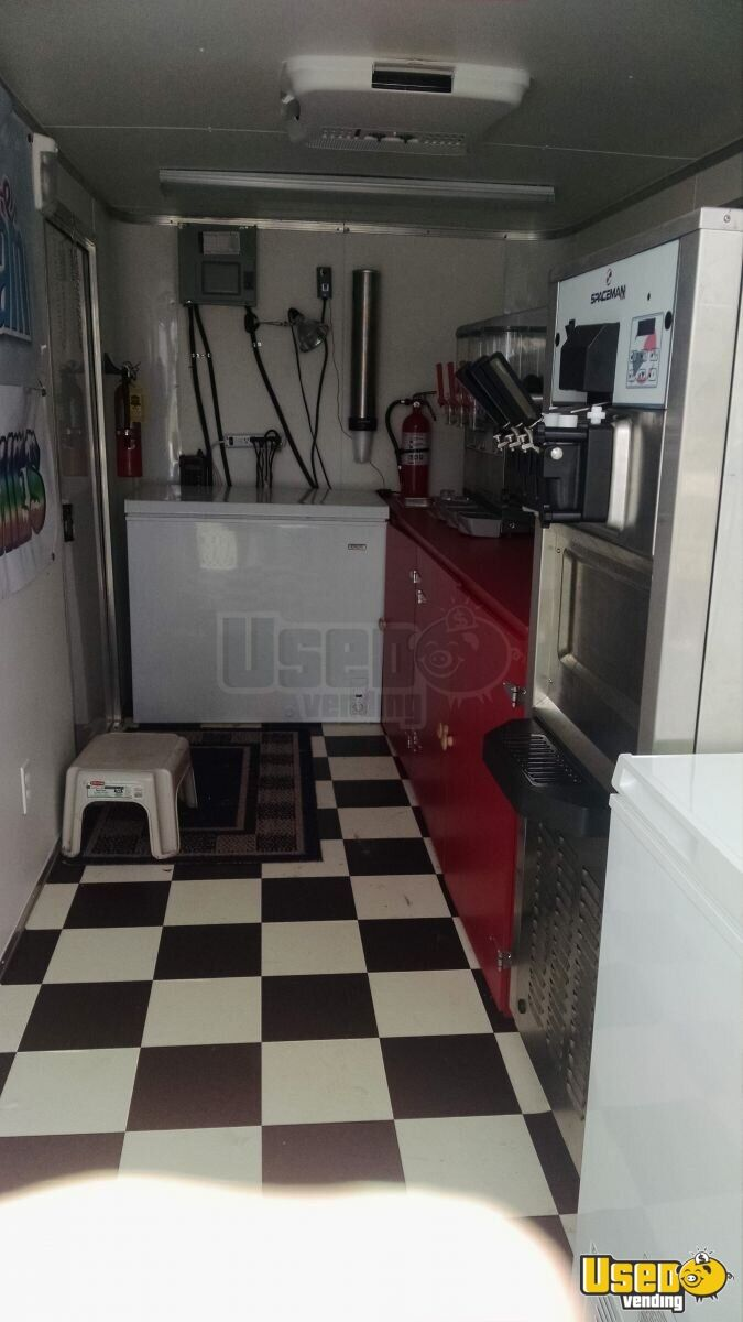 2015 Ice Cream Trailer Generator Florida for Sale - 6