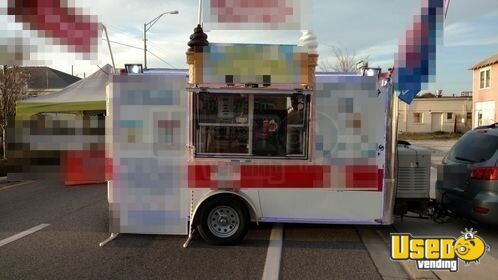 2015 Ice Cream Trailer Insulated Walls Florida for Sale - 4