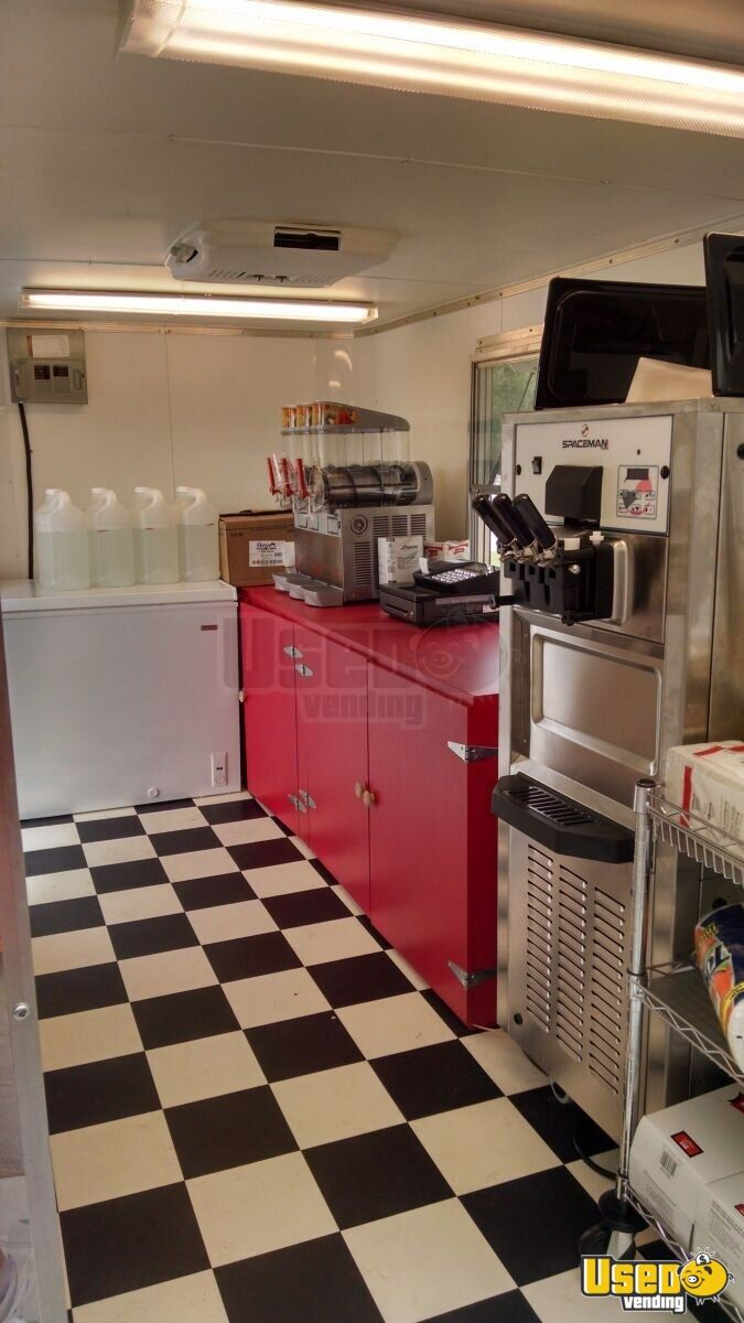 2015 Ice Cream Trailer Propane Tank Florida for Sale - 5