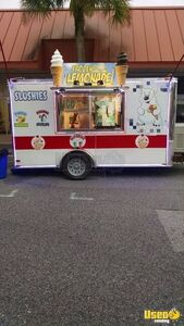 2015 Ice Cream Trailer Refrigerator Florida for Sale