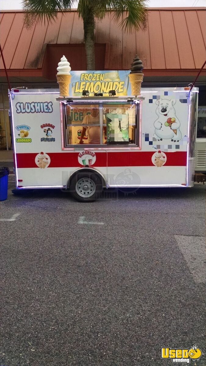 2015 Ice Cream Trailer Refrigerator Florida for Sale - 8