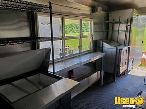 2015 Kitchen Concession Trailer Kitchen Food Trailer Prep Station Cooler Wisconsin for Sale