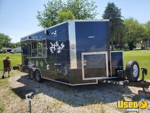 2015 Kitchen Concession Trailer Kitchen Food Trailer Spare Tire Wisconsin for Sale