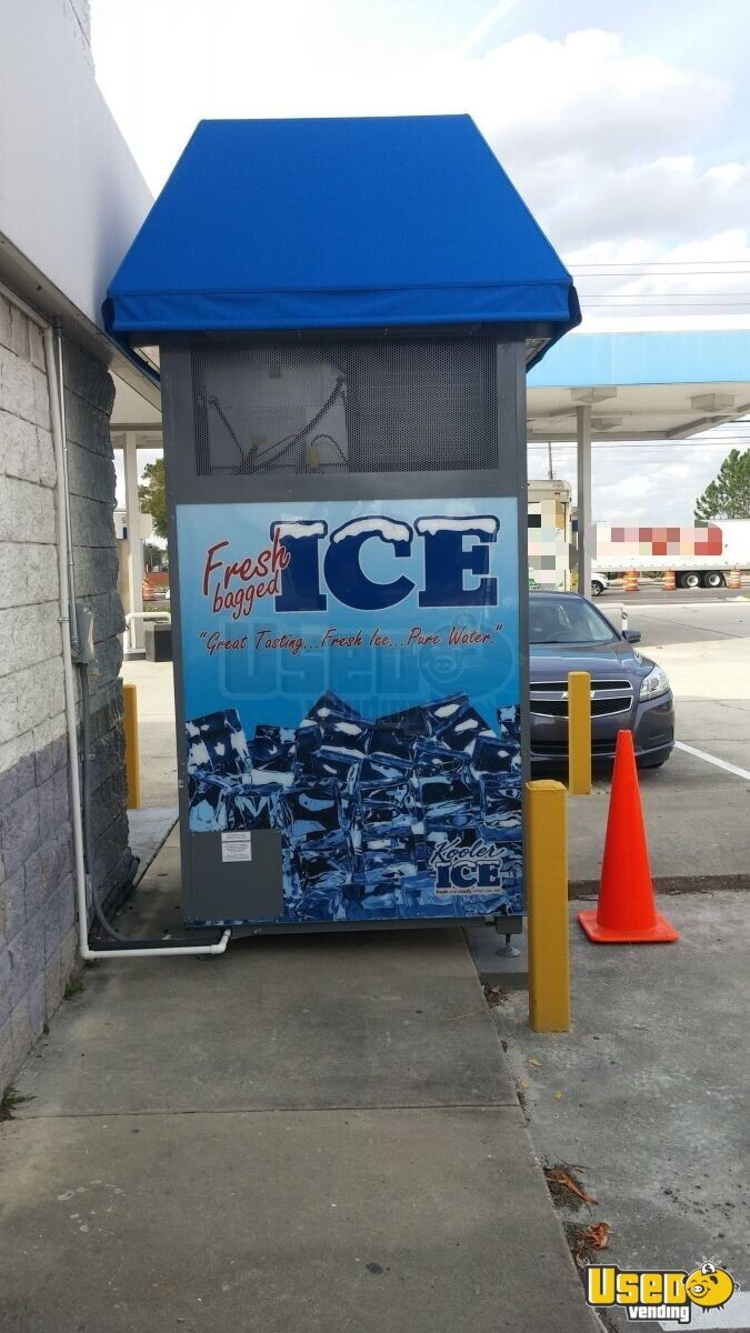 2015 Kooler Ice Im1000 Bagged Ice Machine 2 Florida for Sale - 2