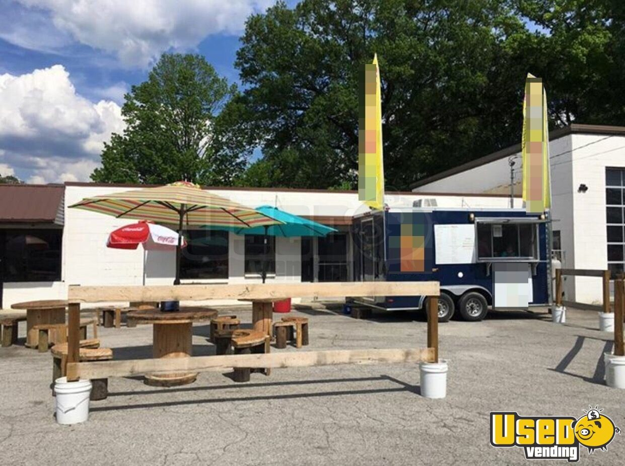 2015 Lark Kitchen Food Trailer Air Conditioning Georgia for Sale - 2