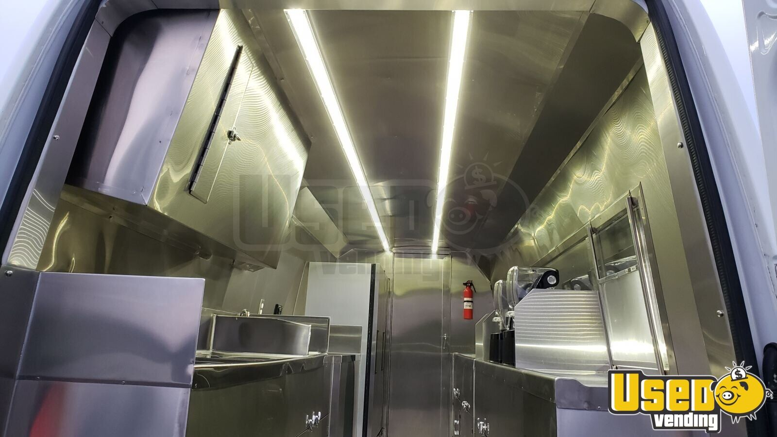 2015 Mercedes-benz All-purpose Food Truck Stainless Steel Wall Covers New York Diesel Engine for Sale - 4