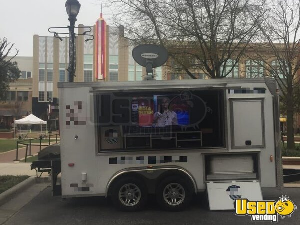 2015 Mobile Sports Bar Tailgating Trailer & Party/gaming Trailer Beverage - Coffee Trailer Bathroom Texas for Sale