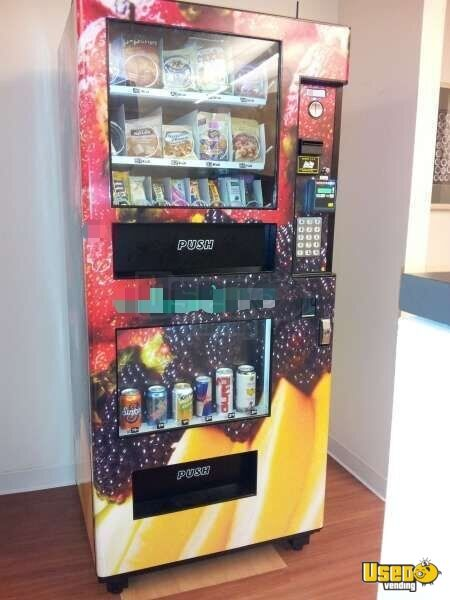 2015 N2g4000 Healthy Vending Machines Naturals 2 Go Vending Combo 2 Illinois for Sale - 2