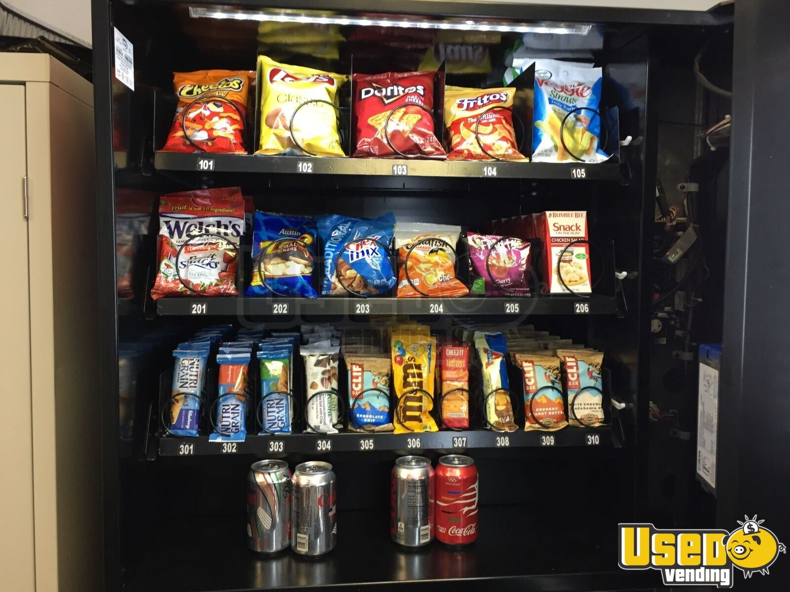 2015 N2g4000 Healthy Vending Machines Naturals 2 Go Vending Combo 6 Illinois for Sale - 6