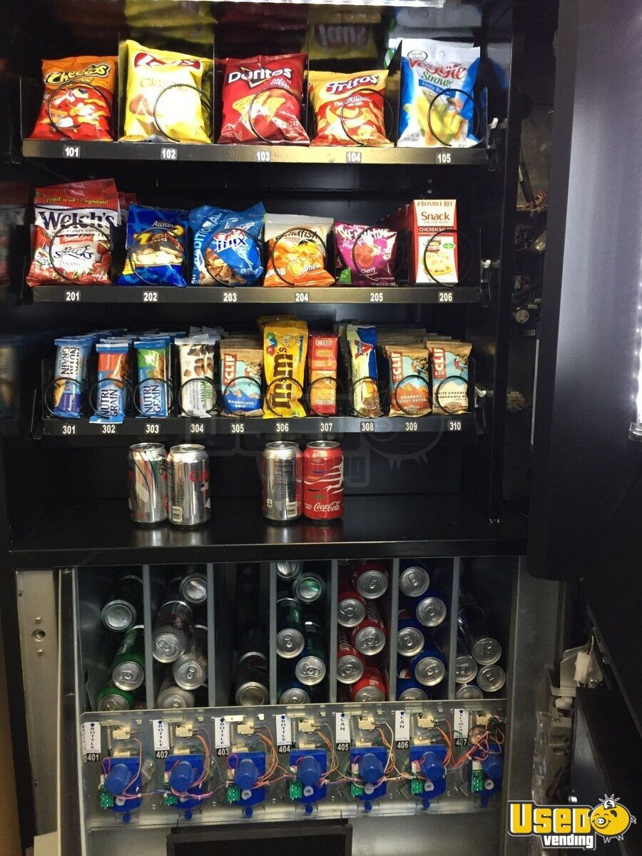 2015 N2g4000 Healthy Vending Machines Naturals 2 Go Vending Combo 7 Illinois for Sale - 7