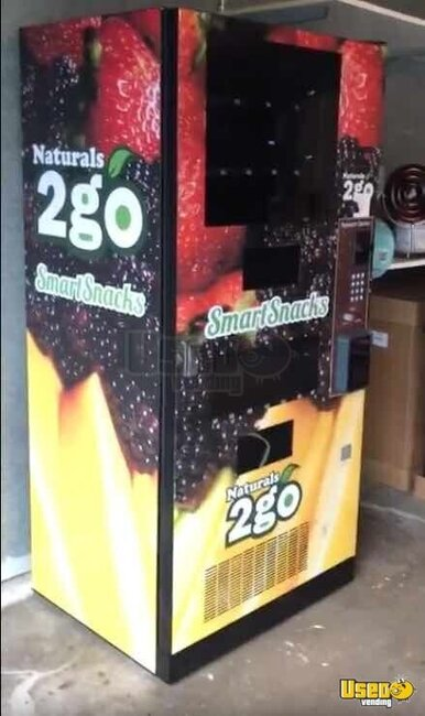 2015 N2g4000 Healthy Vending Machines Naturals 2 Go Vending Combo Illinois for Sale