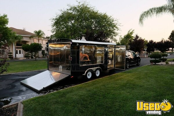 2015 Pizza Concession Trailer Pizza Trailer California Gas Engine for Sale
