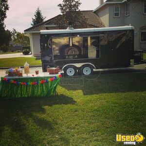 2015 Pizza Concession Trailer Pizza Trailer Concession Window California Gas Engine for Sale