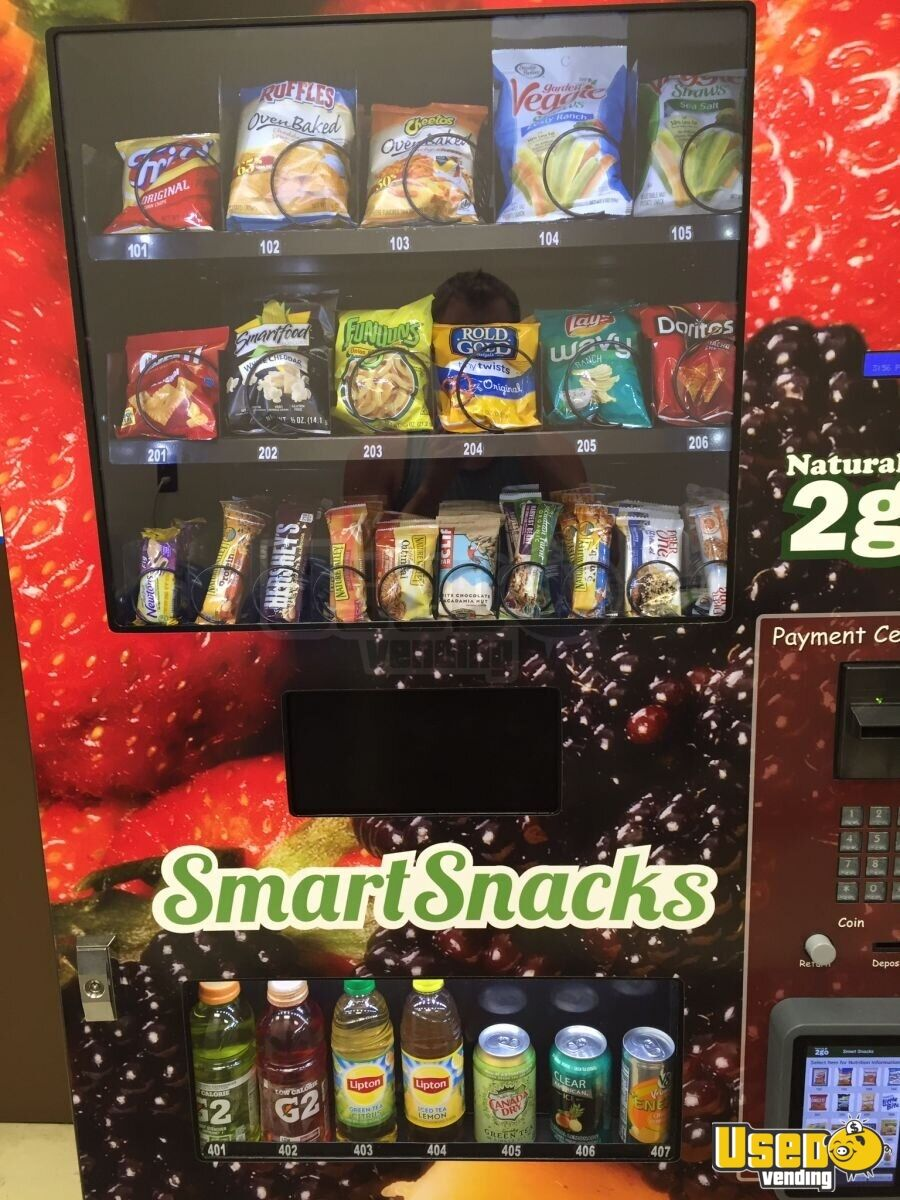 2015 Seaga N2g400 Healthy Combo Vending Machine Healthy Vending Machine 2 New Jersey for Sale - 2