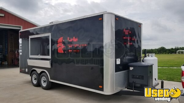 2015 Southwest Trailers Kitchen Food Trailer Texas for Sale