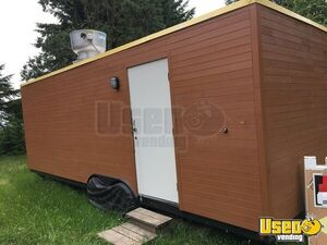 2015 Tandem Axle Flatbed All-purpose Food Trailer Awning Oregon for Sale