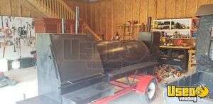 2016 12' Open Bbq Pit Smoker Trailer Open Bbq Smoker Trailer Chargrill Ohio for Sale