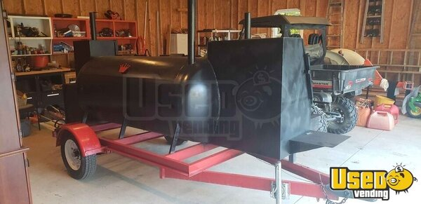 2016 12' Open Bbq Pit Smoker Trailer Open Bbq Smoker Trailer Ohio for Sale