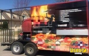 2016 140cm Wood Fired Pizza Concession Trailer Pizza Trailer Alabama for Sale