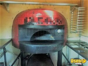 2016 140cm Wood Fired Pizza Concession Trailer Pizza Trailer Refrigerator Alabama for Sale