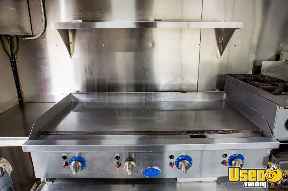 2016 16' F59 Kitchen Food Truck All-purpose Food Truck Flatgrill Virginia Gas Engine for Sale - 19