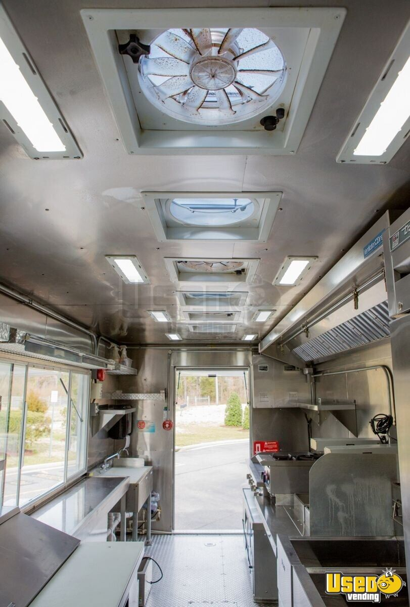 2016 16' F59 Kitchen Food Truck All-purpose Food Truck Stainless Steel Wall Covers Virginia Gas Engine for Sale - 5