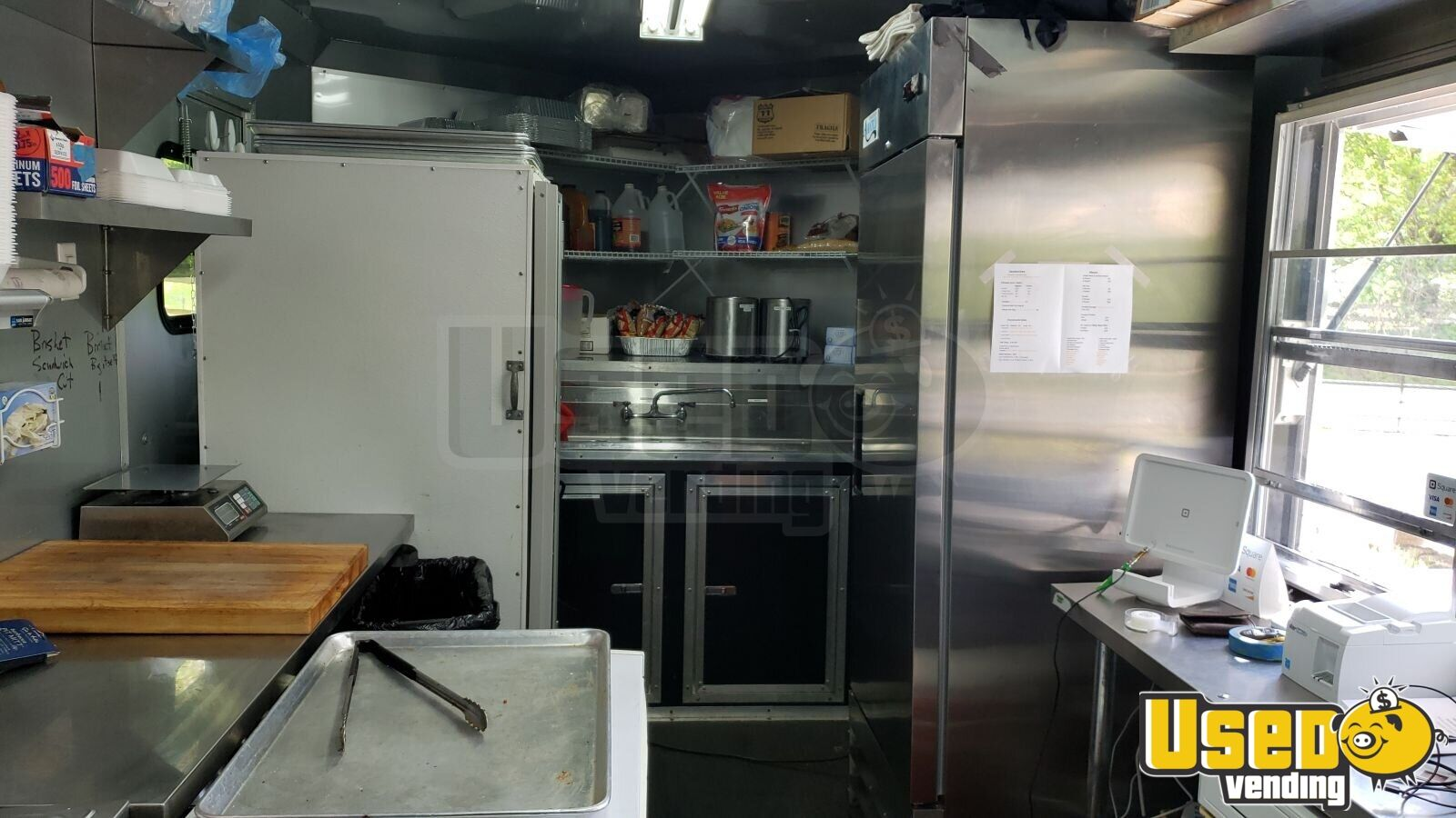 2016 2016 Freedom Trailer Barbecue Food Trailer Refrigerator Virginia for Sale - 7