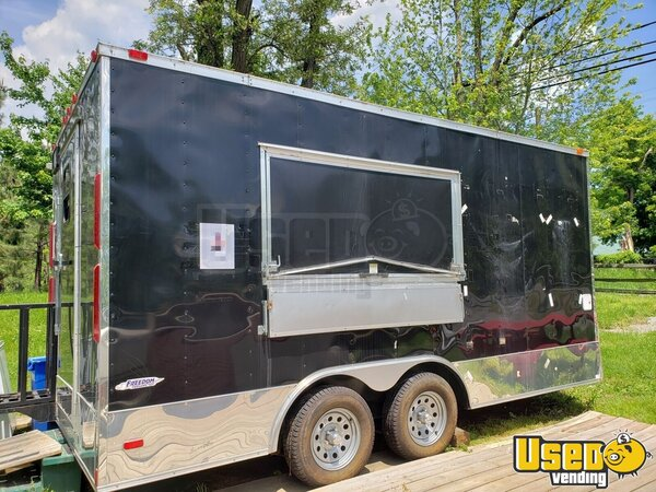 2016 2016 Freedom Trailer Barbecue Food Trailer Virginia for Sale