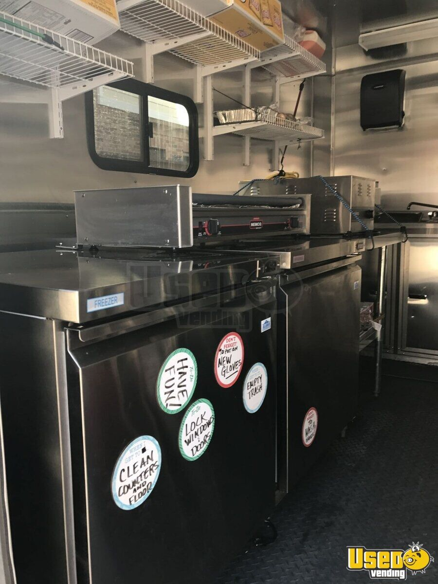 2016 All-purpose Food Trailer Deep Freezer Texas for Sale - 7