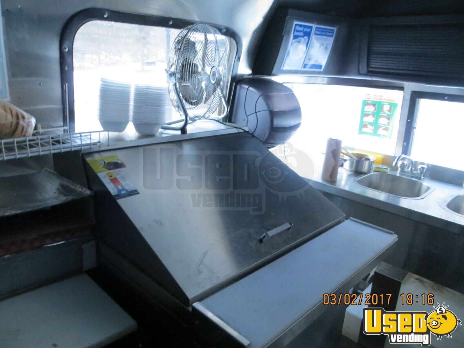 2016 Mobile Kitchen Food Concession Trailer for Sale in Ontario