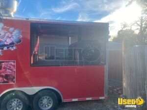 2016 Barbecue Concession Trailer Barbecue Food Trailer Awning Florida for Sale