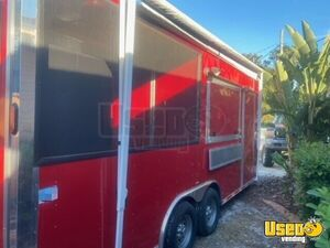 2016 Barbecue Concession Trailer Barbecue Food Trailer Concession Window Florida for Sale
