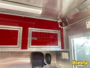 2016 Barbecue Concession Trailer Barbecue Food Trailer Fresh Water Tank Florida for Sale
