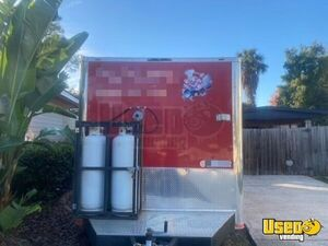 2016 Barbecue Concession Trailer Barbecue Food Trailer Shore Power Cord Florida for Sale