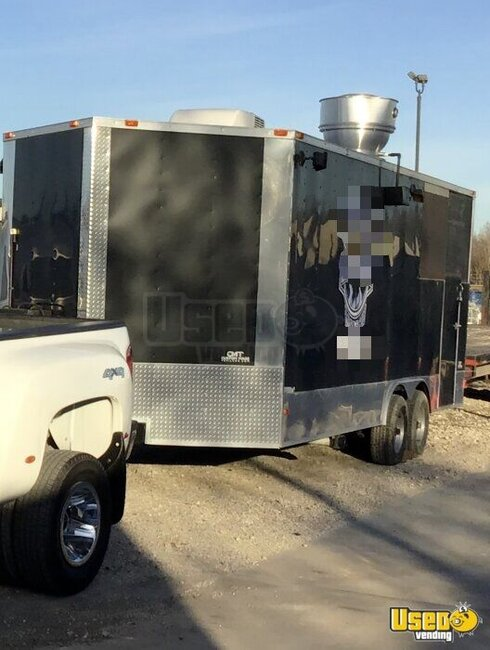 2016 Barbecue Concession Trailer Barbecue Food Trailer Texas for Sale