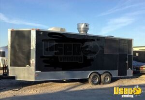 2016 Barbecue Food Trailer Air Conditioning Texas for Sale