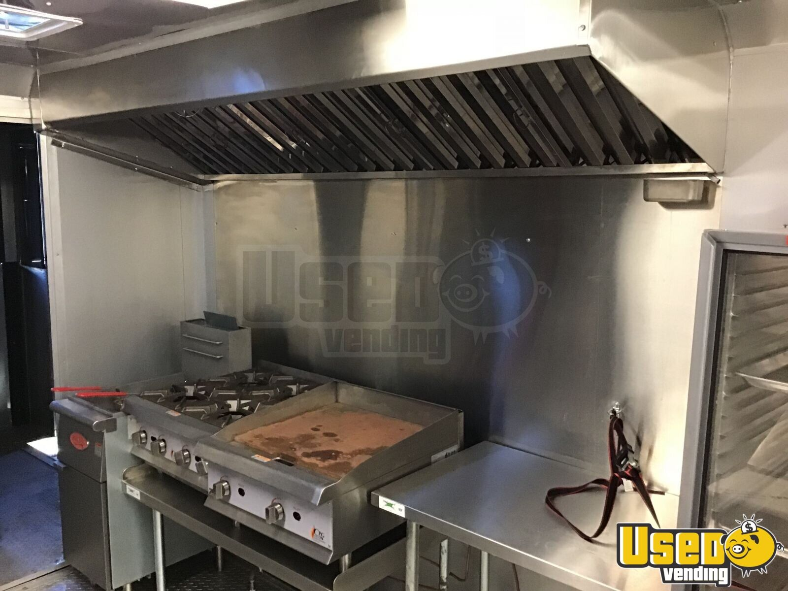 2016 Barbecue Food Trailer Concession Window Texas for Sale - 3