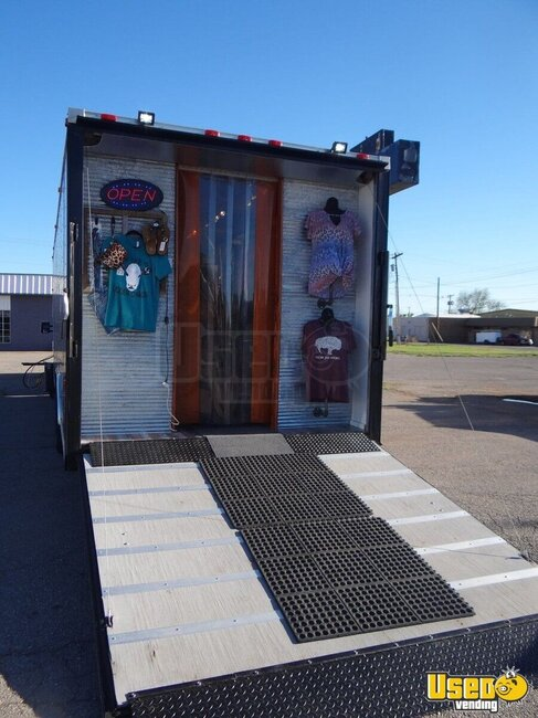 2016 Cargo Trailer Mobile Boutique Truck Oklahoma for Sale