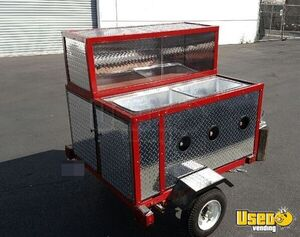 2016 Custom Built Hot Dog / Street Food Cart for Sale in California- NEW!!!