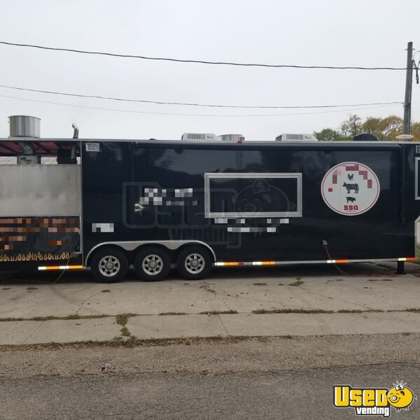 2016 Cmd 40 Ft Barbecue Food Trailer Kansas for Sale