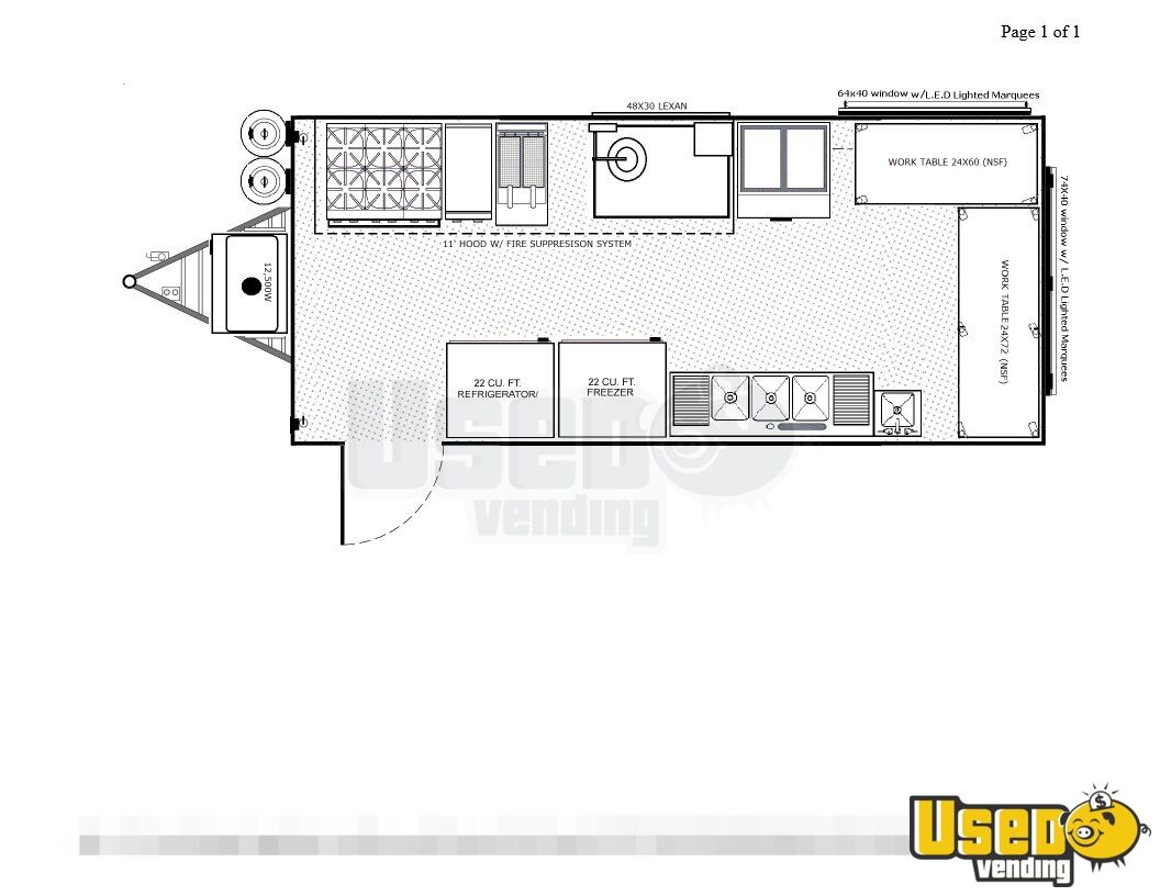Surprising 2016 8 5 X 20 Food Concession Trailer Kitchen Trailer For Sale Wiring 101 Eattedownsetwise Assnl