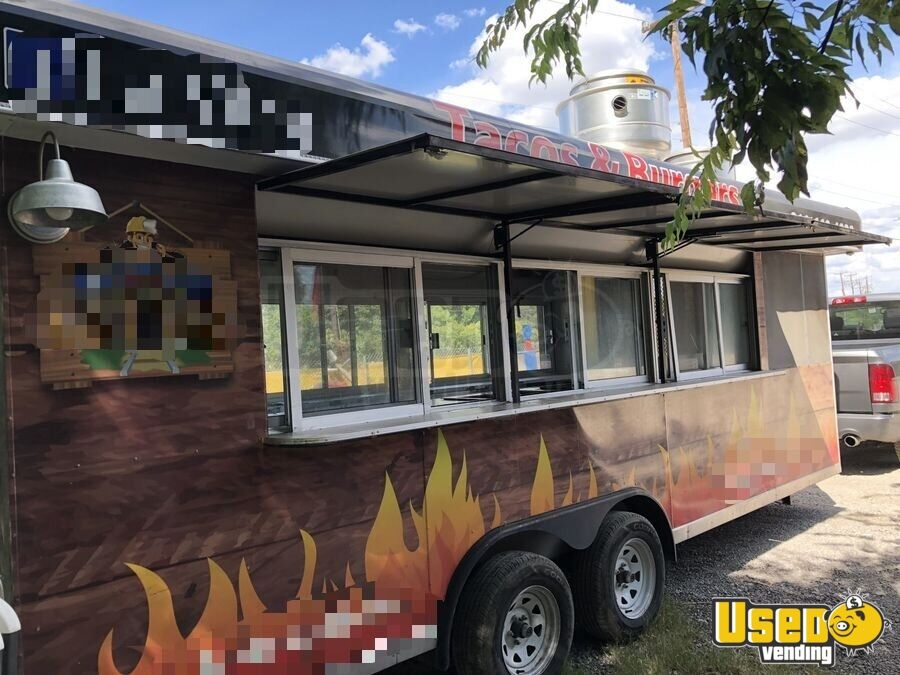 2016 Custom All-purpose Food Trailer Concession Window Texas for Sale - 2