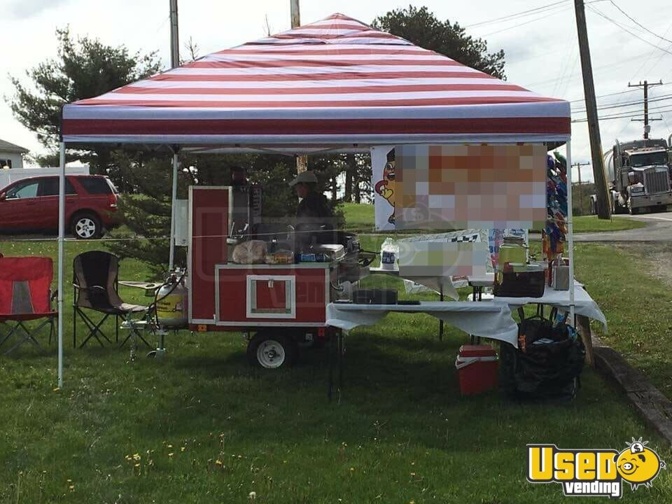 2016 Custom Built Cart Hot Dog Warmer Pennsylvania for Sale - 2