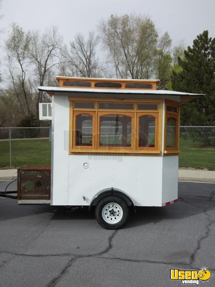 2016 Custom Concession Trailer Air Conditioning Utah for Sale - 2