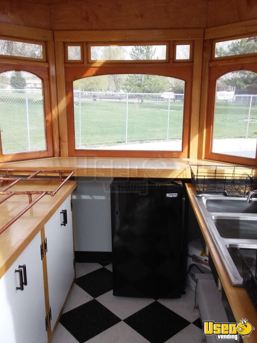 2016 Custom Concession Trailer Awning Utah for Sale - 7