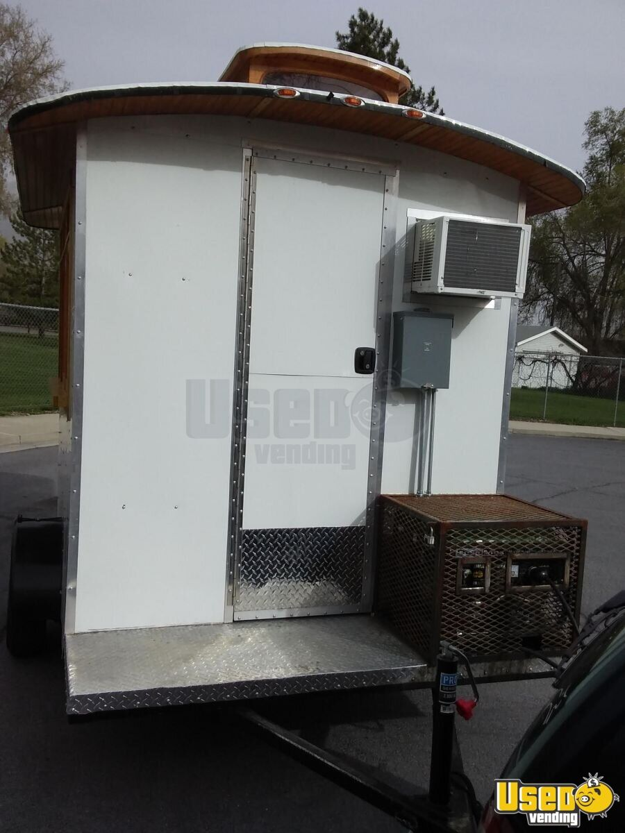 2016 Custom Concession Trailer Cabinets Utah for Sale - 5