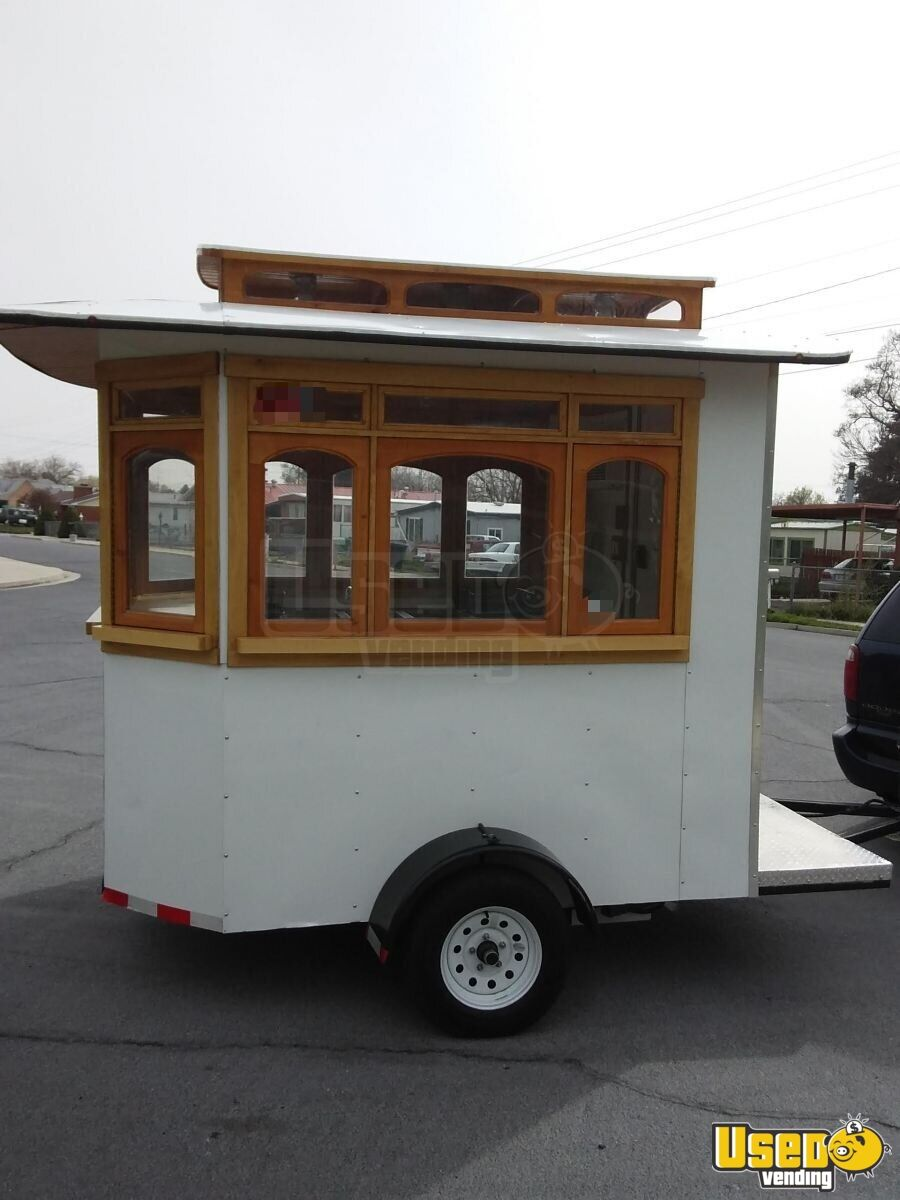 2016 Custom Concession Trailer Concession Window Utah for Sale - 3