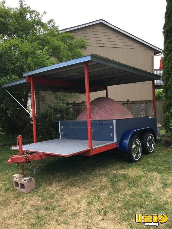 2016 Custom Food Cart 3 Washington for Sale - 3