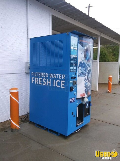 2016 Everest Vx4 Vending Machine Bagged Ice Machine Arkansas for Sale