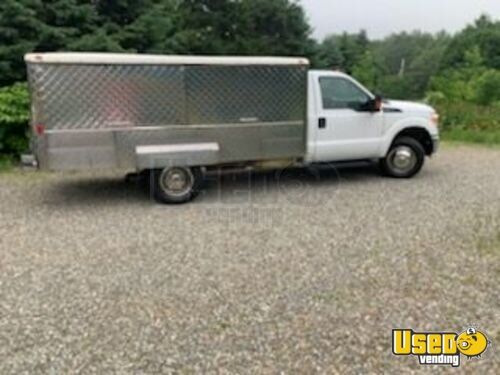 2016 F-350 With Bostonian Body Canteen Style/lunch Serving Food Truck Lunch Serving Food Truck Massachusetts for Sale